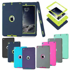 online store 5eaf8 6b275 Details about New iPad 2017/2018 9.7inch Shockproof Heavy Duty Case Cover  Silicone Protective