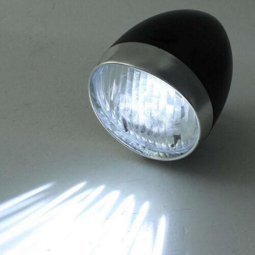 Bicycle Headlight 3LED Bike Vintage Flashlight Bracket Cycling Lighting Supplies