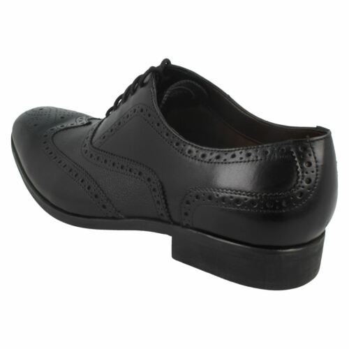 Mens Clarks leather Brogue shoes G-Fitting Gilmore Limit