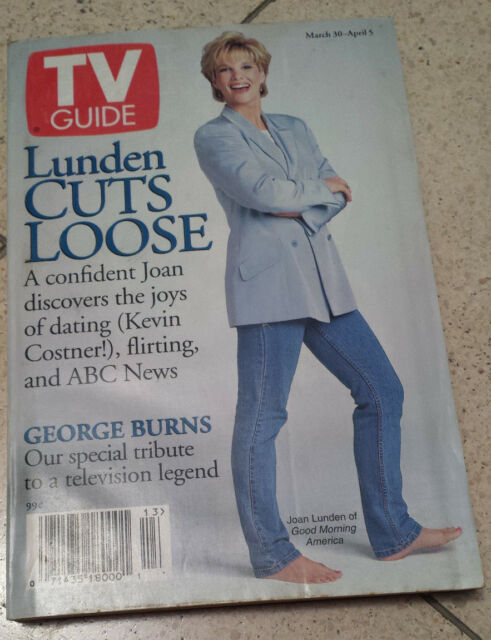 Good Morning America Joan Lunden TV Guide March 30 1996 Like New Condition