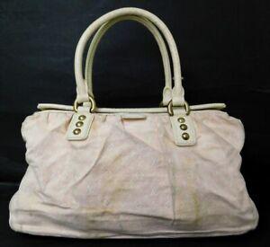 Auth-Louis-Vuitton-Monogram-Mini-Lin-Trapeze-GM-Hand-Bag-Pink-M40064
