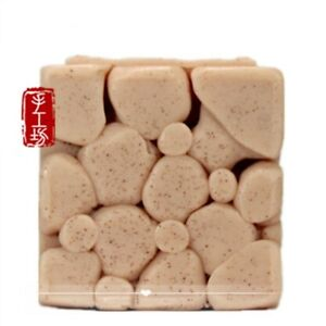 Details About Silicone Soap Bar Molds Diy Craft Handmade Soap Molds Candle Resin Mould Stone