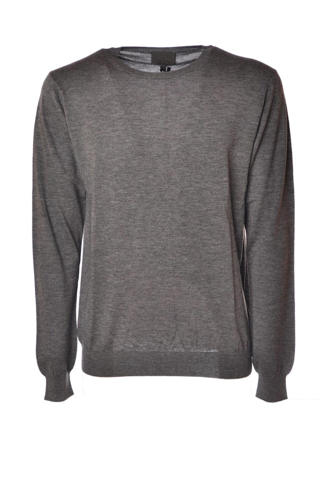 Diktat  -  Sweaters - Male - Grau - 4339226A185454