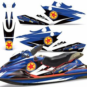 Decal Graphic Wrap Kit Jet Ski Jetski Bombardier Parts Sea Doo Gsx 1996 1999 R S Ebay
