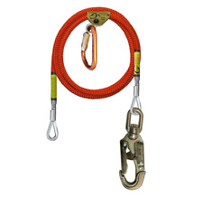 Climb Right 58 X 10 Wire Core Flipline Kit With Rope Grab And Carabiner 75242