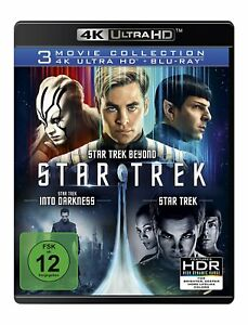 4K Ultra HD Blu-ray * STAR TREK - 3-MOVIE COLLECTION # NEU OVP +