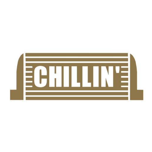 Chillin Intercooler vinyl decal sticker for Car//Truck Window tablet JDM Turbo