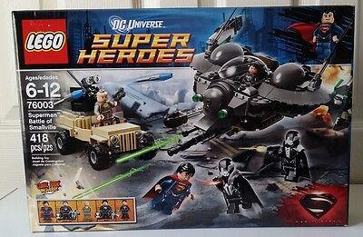 LEGO DC Universe Super Heroes Superman Battle of Smallville Set 76003 418 pcs