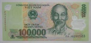 Pick 122a UNC VIET NAM 100.000 Dong 2004 Polymer