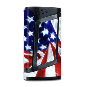 Skins Decals for Smok Alien 220w TC Vape Mod / Electric American Flag U.S.A.