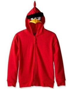 Angry-Birds-Big-Boys-Costume-Hoodie-Red