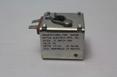 DAYTON 011209 Solenoid Valve Coil,24VAC,60//50 Hz