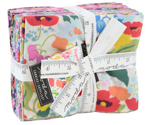 Moda-Regent-Street-Lawns-Fat-Quarter-Bundle-25pc-Precut-Quilt-Fabric-33470AB