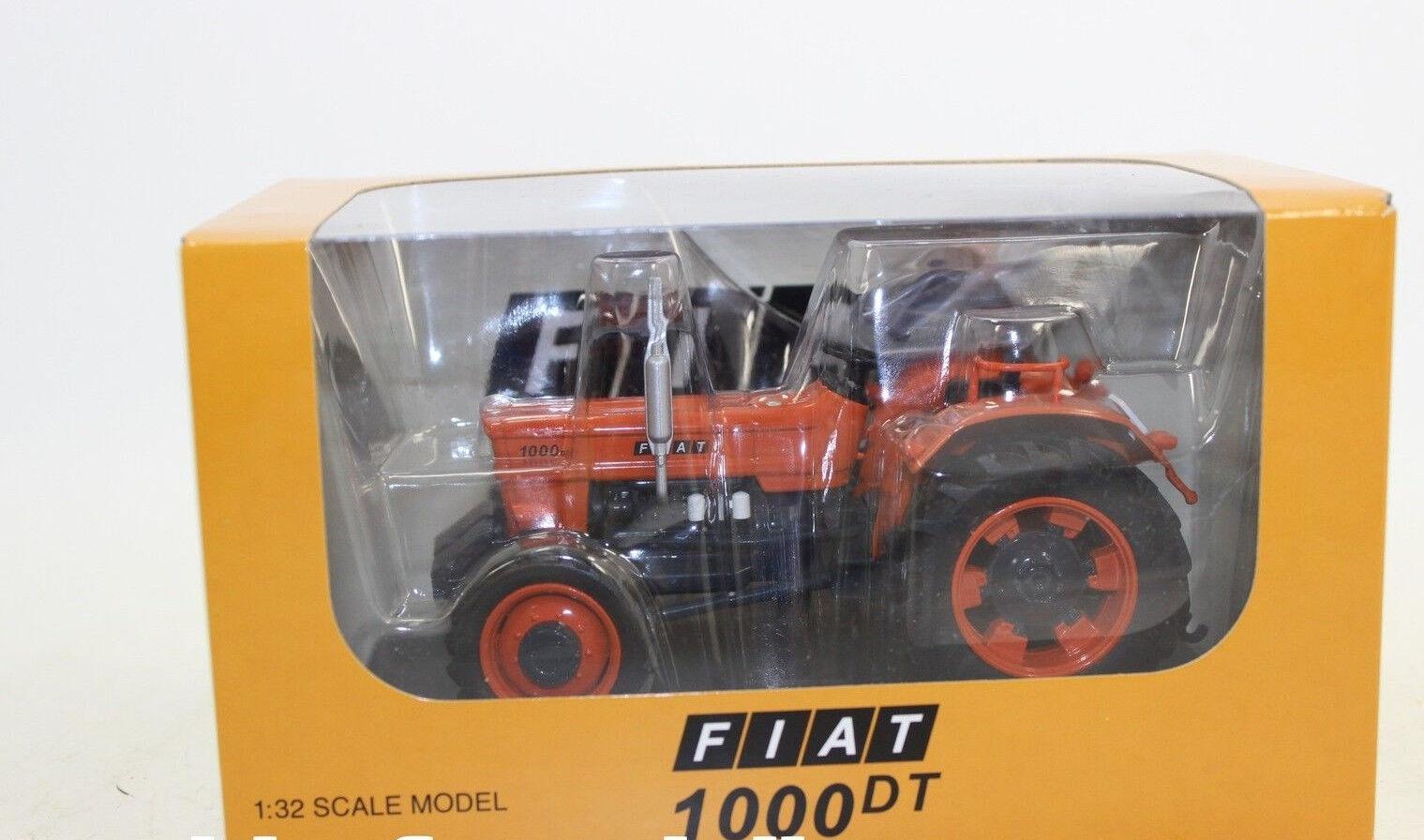 Replica Replica Replica Gri 051 Tractor Fiat 1000 Dt with Driver 1 3 2 New Boxed ff61ee