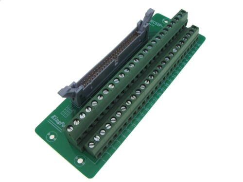 IDC50 50-Pin Connector Signals Breakout Board Screw terminals Din