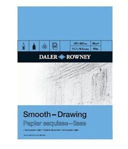 Daler Rowney Smooth Drawing Pad A4
