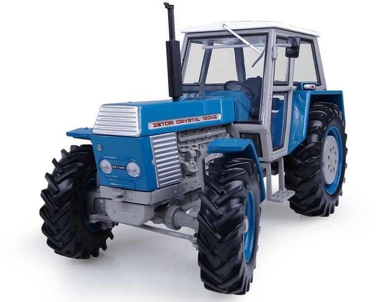 Universal Hobbies Zetor Crystal 4WD 12045 Blau New Mint Boxed
