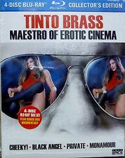 TINTO BRASS Maestro Of Erotic Cinema (Blu-ray 4-Disc Set) Cult Epics BRAND NEW!