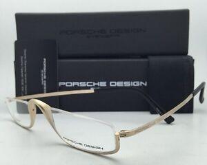 67b1339acc PORSCHE DESIGN Titanium Eyeglasses Half Eyes P 8002 A - Semi-Rimless ...