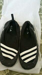 adidas Climacool Jawpaw Slip On Black White Men Sandal Slides Water ... bcb2fc624