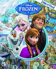 Disney Frozen Look and Find (2012, Hardcover)