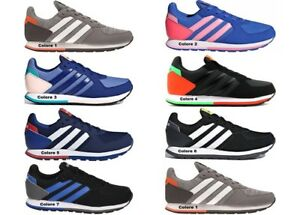 Adidas-8-K-Scarpe-Donna-Sneakers-Sportive