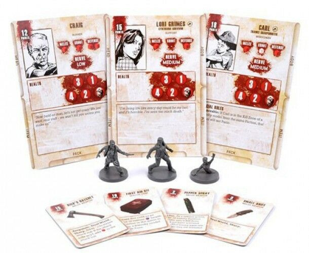 The Walking Dead Walking Dead All Out War Miniature Game Lori Game Booster