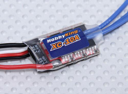 10a Brushless Car ESC w// Reverse 1//32 1//28 1//24 Micro T SCT 4wd Rally Desert RTR