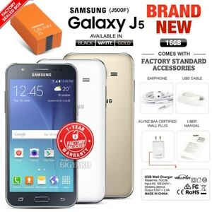New-Unlocked-SAMSUNG-Galaxy-J5-J500F-Black-White-Gold-Dual-SIM-Android-Phone
