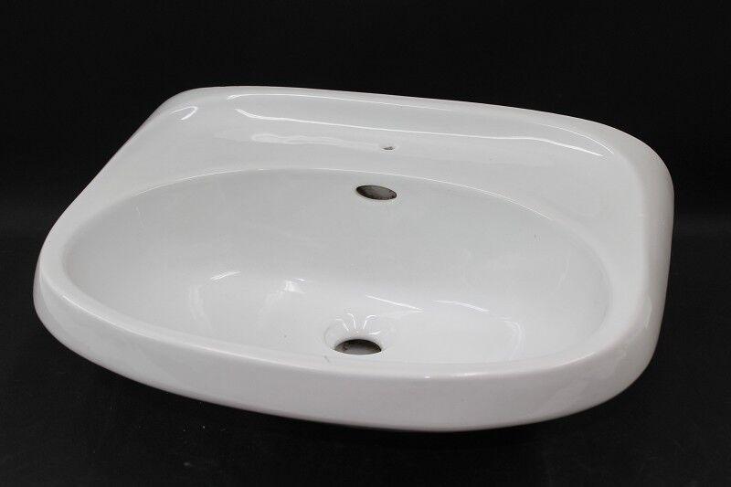 Antiguo Lavabo Del Baño Fregadero de Cromo Sumidero Cerámica blancoo Platillos