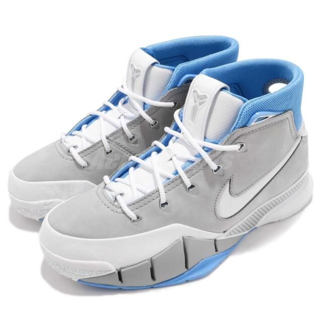 promo code 6d10a ac450 Nike Kobe 1 Protro MPLS Bryant Mamba Grey Blue Men Basketball Shoes  AQ2728-001