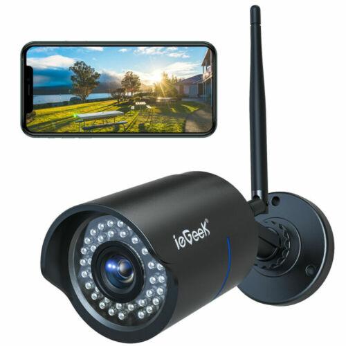 ieGeek1080P WIFI IP Camera Wireless CCTV PTZ Smart Home Security IR Outdoor Cam