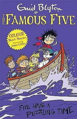 Five Have a Puzzling Time by Enid Blyton (Paperback, 2014)
