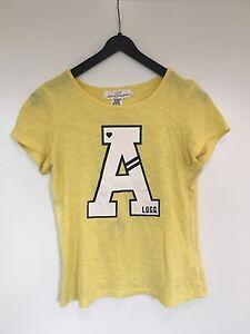 Sport-Tshirt-H-amp-M-Gr-146-Gelb