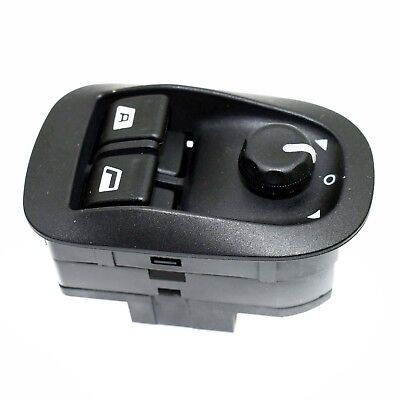 PEUGEOT 206 306 ELECTRIC POWER WINDOW CONTROL SWITCH MIRROR CONTROL  6554.WA