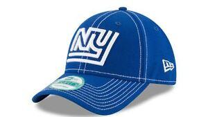 New York Giants Hat Snapback NFL New Era 9Forty 4th Down Cap Blue