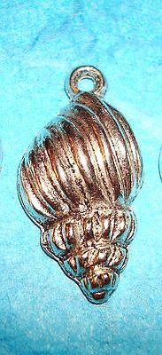 Pendant Shell Charm Whelk Charm Beacn Vacation Sand Ocean Treasure Whelk Shell