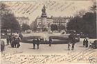 69 - cpa - LYON - La statue de la République - Place Carnot