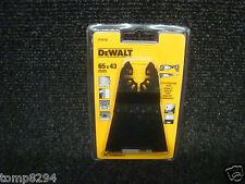 Dewalt DT20705 DeWalt Multi Tool Fast Cut Wood Blade 43x65mm