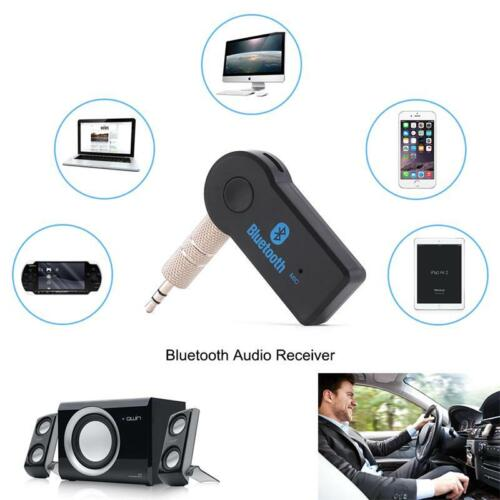 Dongle Wireless Bluetooth 3.5mm AUX Audio Stereo Music Car Receiver Adapter PC