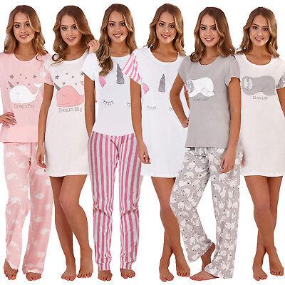 Loungeable Womens Novelty Animal Nightwear Ladies Pyjama Sets Or Nightshirts Produkte Werden Ohne EinschräNkungen Verkauft