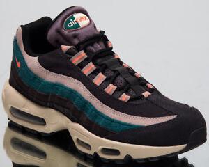 Nike Air Max 95 Premium Lifestyle Shoes Grey Bright Mango Sneakers ... 414b9663c