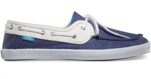 Zapatos Náuticos Azul Mujer Chauffette Off Marino Vans Stv Wall Surf The Blanco W7qvy7HwgP