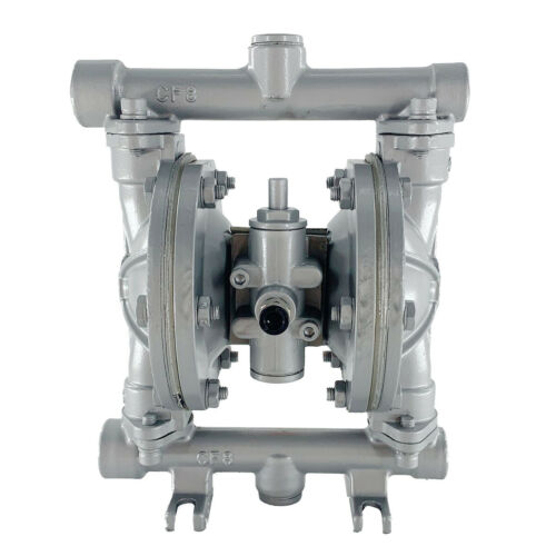 """12GPM Double Diaphragm Transfer Pump Air-Operated Pneumatic1//2/"""" Inlet and Outlet"""