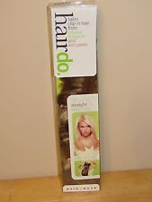 "HairDo Jessica Simpson Salon Clip-In Hair Extensions 22"" STRAIGHT HONEY GINGER"