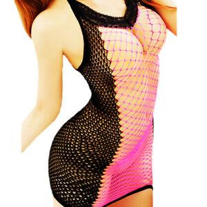 Hot-Women-039-s-Lace-Lingerie-Dress-G-string-Nightwear-Underwear-Babydoll-Sleepwear
