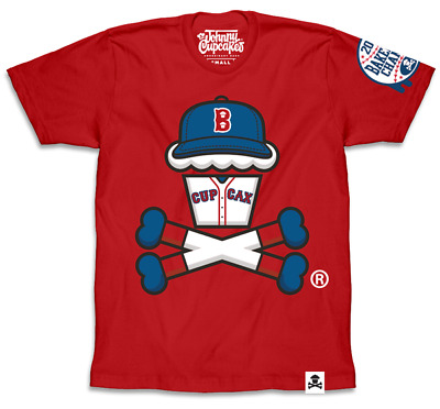 Trains Men/'s BOSTON EXCLUSIVE Johnny Cupcakes T-Shirt