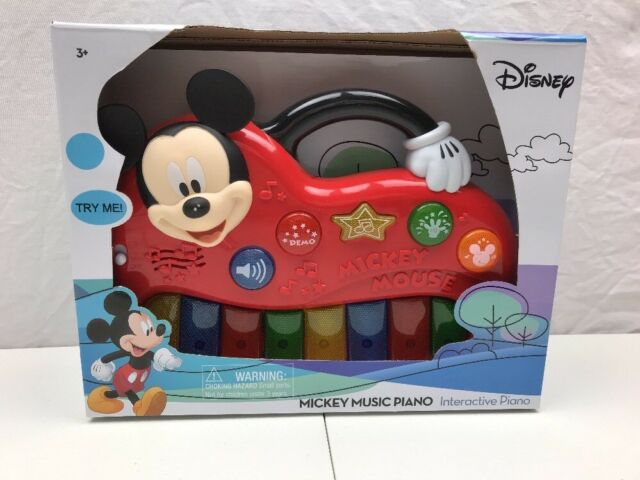 Mickey Mouse Clubhouse Teaching Keyboard - Disney Junior NEW