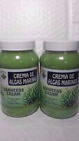 2 Jars Of Seaweeds Wrap Cream 18 Oz Each Crema Reductora De Algas Marinas
