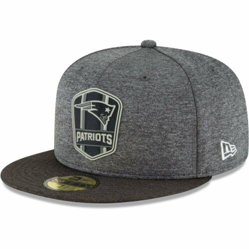 Black Sideline New England Patriots New Era 59Fifty Cap